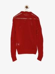 UFO Girls Red Sweater
