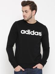 Adidas NEO Black CE LG FT Printed Sweatshirt