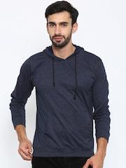 American Crew Navy Hooded Sweatshirt