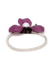 ToniQ Purple Floral Hairband