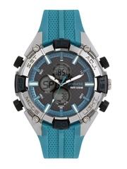 Sonata Men Black Superfiber Anadigital Chronograph Watch NH77028PP03J