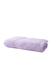 BOMBAY DYEING Lavender Cotton 450 GSM Beach Towel