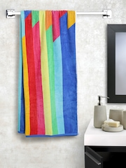 BOMBAY DYEING Multicoloured Striped Cotton 400 GSM Beach Towel