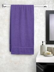 BOMBAY DYEING Purple Cotton 325 GSM Bath Towel