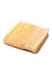 BOMBAY DYEING Set of 3 Yellow Egyptian Cotton 600 GSM Face Towels