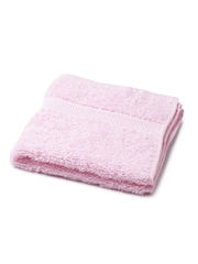 BOMBAY DYEING Set of 3 Pink Cotton 550 GSM Face Towels