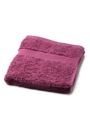 BOMBAY DYEING Set of 3 Burgundy Cotton 550 GSM Face Towels