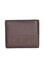 Second SKIN Men Brown Genuine Leather Wallet