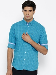 Arrow Sport Men Blue Printed Casual Shirt