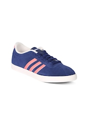 Adidas NEO Women Blue Solid Regular Sneakers