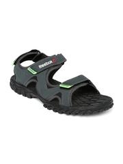 Reebok Men Charcoal Grey Reebel Sports Sandals