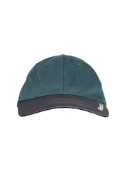Reebok Men Teal Green & Black Semen Logo Training Cap