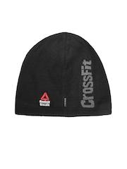 Reebok Unisex Black CrossFit U PERF Patterned Beanie