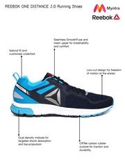 Reebok Men Navy Blue One Distance 2.0 Running Shoes