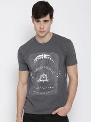 FILA Grey Jaws Printed T-shirt
