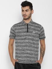 FILA Grey ELDON T-shirt with Grindle Effect