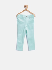 The Childrens Place Girls Mint Green Jeggings