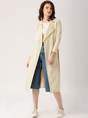 All About You by Deepika Padukone Beige Trench-Style Jacket