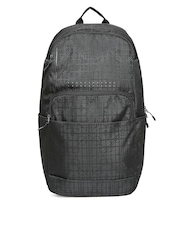Adidas Men Black ST Printed Laptop Backpack