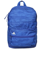 Adidas Unisex Blue GRAPH Printed Backpack