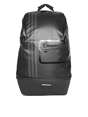 Adidas Unisex Black CLMCO Striped Laptop Backpack