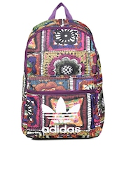 Adidas Originals Women Multicoloured Printed CROCHITA Backpack