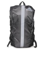 Adidas Unisex Black Run Yur Printed Backpack