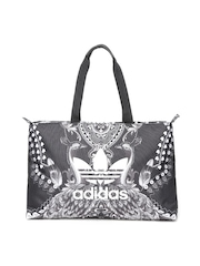 Adidas Originals Black Printed PAVAO B Shoulder Bag