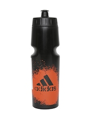 Adidas Unisex Black X Printed Sipper Water Bottle