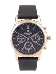 Daniel Klein Exclusive Men Gunmetal-Toned Dial Watch DK10939-4