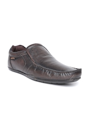 Red Tape Men Brown Leather Semiformal Shoes