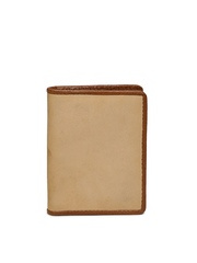 Fossil Men Brown Cowhide Leather Card Holder