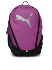 Puma Women Purple Cat Backpack