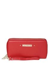Caprese Women Red Andalucian Wallet
