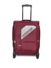 AMERICAN TOURISTER Unisex Maroon Cameroon Small Trolley Bag