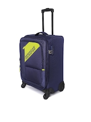 AMERICAN TOURISTER Unisex Blue Cameroon Small Trolley Bag