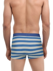 Undercolors of Benetton Pack of 2 Blue Striped Trunks P17DI
