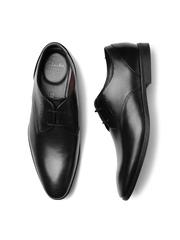 Clarks Men Black Bampton Leather Derby Shoes