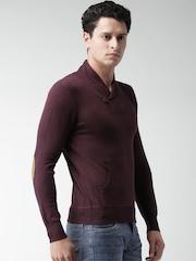 ALCOTT Burgundy Sweater