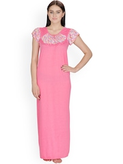 Klamotten Pink Maxi Nightdress 25R3