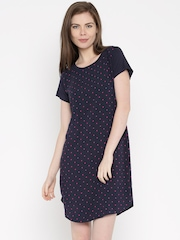 Marks & Spencer Navy Printed Nightdress 3593
