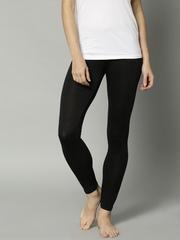 Marks & Spencer Black Ankle-Length Thermal Leggings