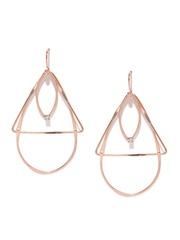 Accessorize Rose Gold-Toned Drop Earrings