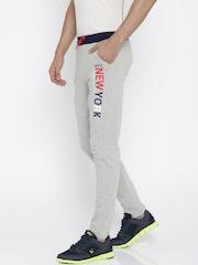 Sports52 Wear Grey & Navy Track Pants