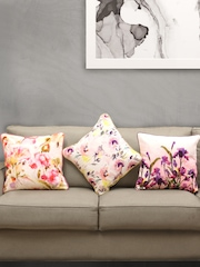 "House This Multicoloured Set of 3 Printed 16""x16"" Square Cushion Covers"