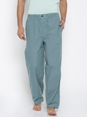 Liberty Blue Checked Lounge Pants 8907158026109