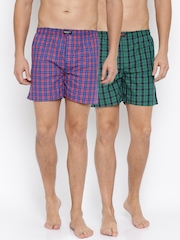 Liberty Pack of 2 Checked Boxers 8907158049351