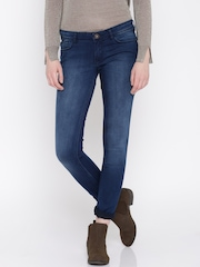 Jealous 21 Women Blue Super Skinny Fit Jeans