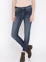 Jealous 21 Women Blue Hottie Ultra Slim Fit Jeans