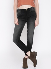 Jealous 21 Women Black Hottie Fit Ankle-Length Jeans
